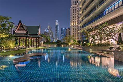 Forbes Names Swimming Pool At The Athenee Hotel Bangkok As
