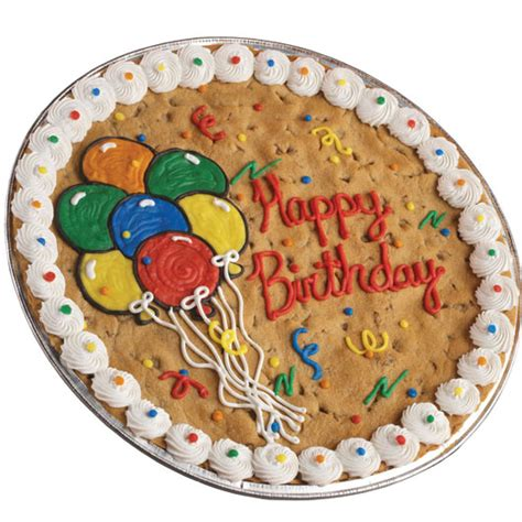 birthday cookie cake cookie cake delivery cookies