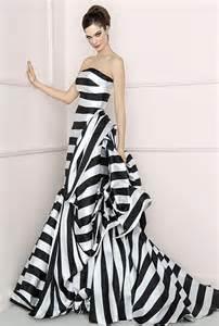 black and white bridesmaid dresses antonio riva alba black and white wedding dresses photos brides