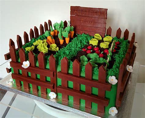 garden vegetable patch cake food  birthday cake