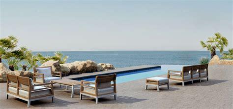 bermuda modern teak aluminum club chair contract hotels