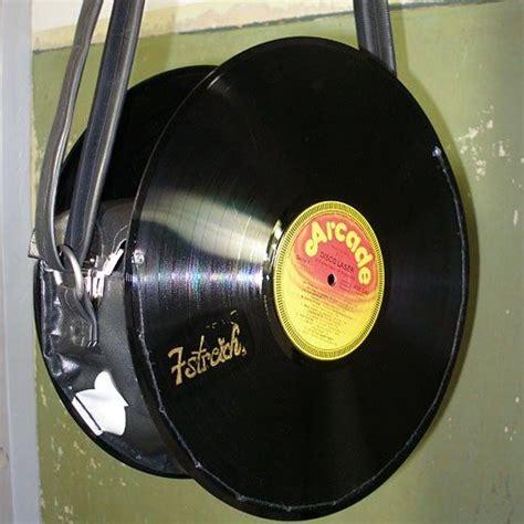 Tasche Aus Schallplatten by Tasche Aus Schallplatten Diy Upcycling Schallplatten