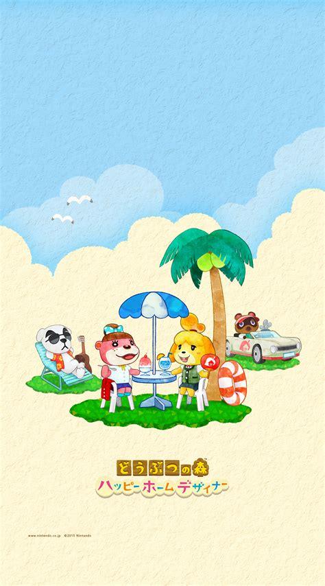 Animal Crossing World Wallpaper - summer animal crossing happy home designer