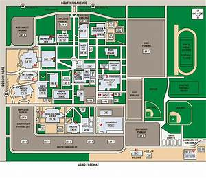 Southern and Dobson Campus Map | Locations | Mesa ...