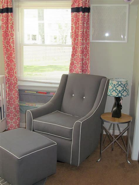 Savvy Upholstered Glider And Ottoman By Castle projects at the pickett s just in time