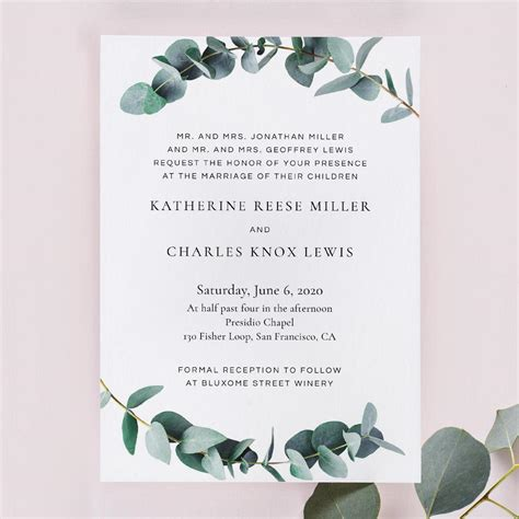 wedding invitation wording examples   style