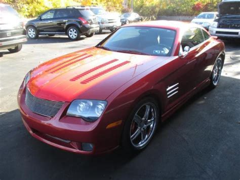 custom rare  chrysler crossfire coupe  speed unique
