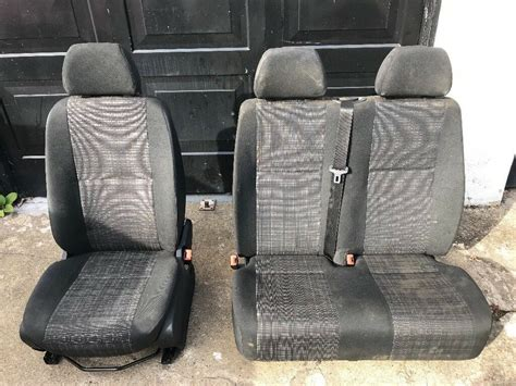They are used with the factory swivel option and with the factory suspension seat option. MERCEDES SPRINTER VW CRAFTER DRIVERS SEAT PASSENGERS SEATBELTS NO ARMREST BASE 316 313 311 413 ...