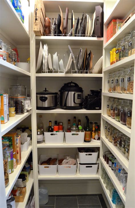 big pantry redo    organized  days