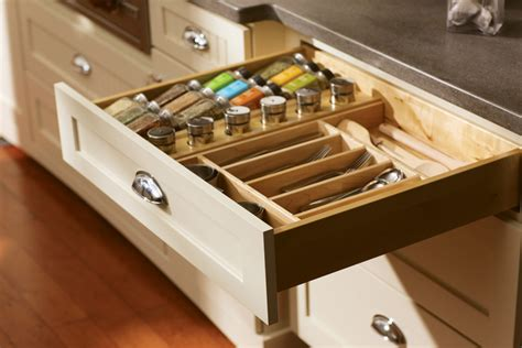 Spice Racks, Drawers, & Storage  Dura Supreme Cabinetry