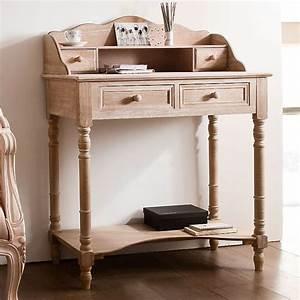 deco naturelle notre selection de meubles en bois With un secr taire meuble