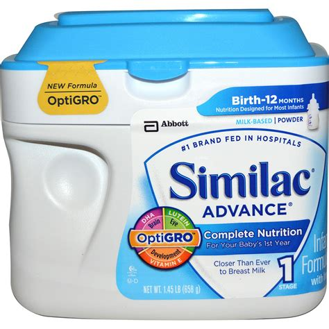 Help Support Your Growing Baby The Full Similac Advance