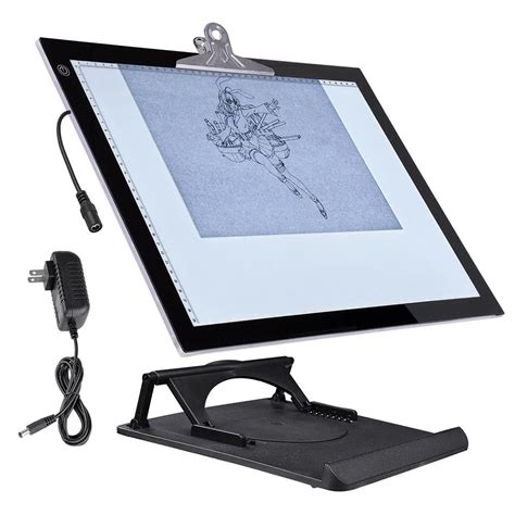3 light table l 19 quot led artist stencil board tattoo drawing tracing table