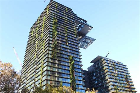 Vertical Garden Sydney by Horticulture Greens The City Track Abc