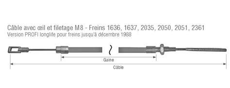 cable frein a c 226 ble de frein remorque alko franssen pi 232 ces d 233 tach 233 es remorque