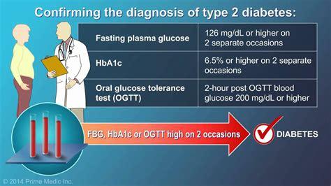 diagnosis  type  diabetes youtube