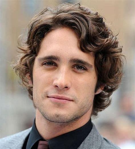 Mens long hairstyles in curly hair