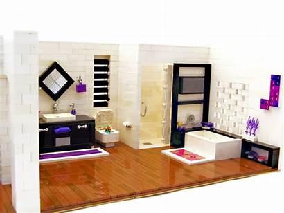 Lego Modern Interior Cgi Stuff Brickshelf Bin