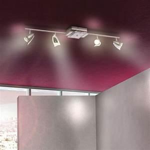 Spots Led Decke : wandleuchte beleuchtung deckenlampe decke led leuchte licht strahler lampe spot ebay ~ Buech-reservation.com Haus und Dekorationen