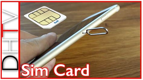 how to take out sim card from iphone 5 how to insert remove sim card from iphone 6s and iphone 6s