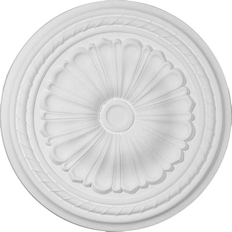 Two Ceiling Medallions Home Depot by Ekena Millwork 20 1 2 In Ceiling Medallion Cm20al