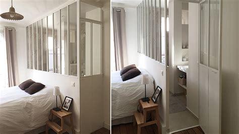separation de chambre verriere separation chambre salle de bain home design