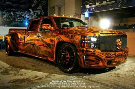 dually truck wild paint pinterest trucks dubai and
