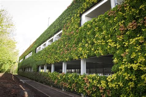 Europe's 'largest Green Wall' Completes On Warwick Car