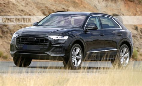 2019 Audi Q8 Spied Basically Undisguised  News  Car And