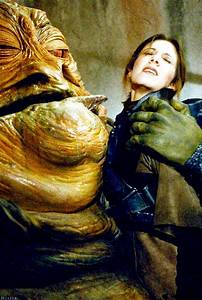 Jabba The Hutt makes a move on Princess Leia from Star ...