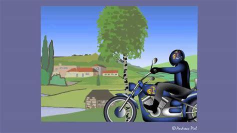motorrad  card bikerlady zum geburtstag youtube