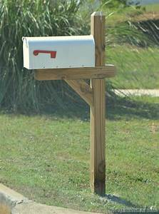 wood mailbox post home depot woodproject