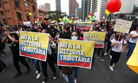 Presidente de Colombia no retirará la reforma tributaria ...