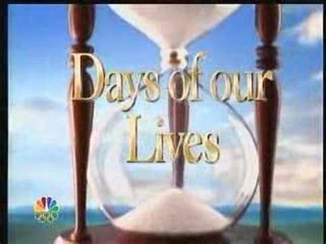 Days Of Our Lives Open  March 2008 Youtube