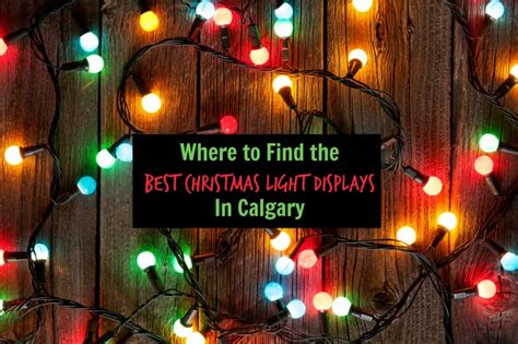 places   christmas lights  calgary family