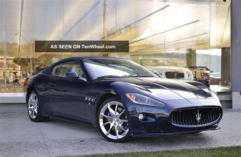 2012 Maserati Granturismo Sport Convertible 2
