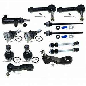 13 Complete Suspension Ball Joint Tie Rod Ends For Chevy