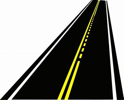 Road Clip Clipart Paved Open Roadway Ncb