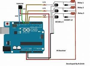 Arduino Ir Remote Control Circuit