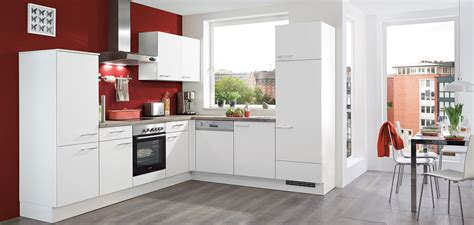 nobilia cuisine speed 239 blanc mat living nobilia küchen