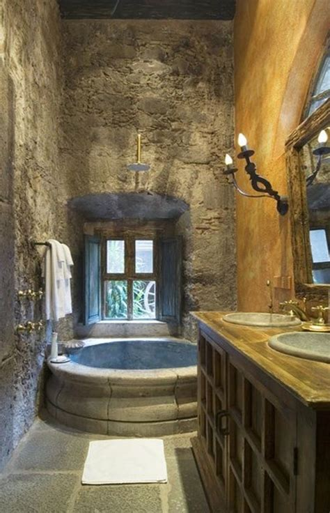 Tuscan Style Bathroom Decor by Tuscan Bathroom Design Ideas