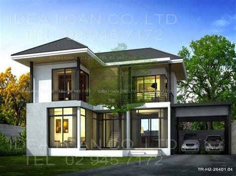 two house designs modern 2 house plans modern contemporary house