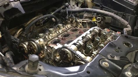 cadillac srx  timing chain p p youtube