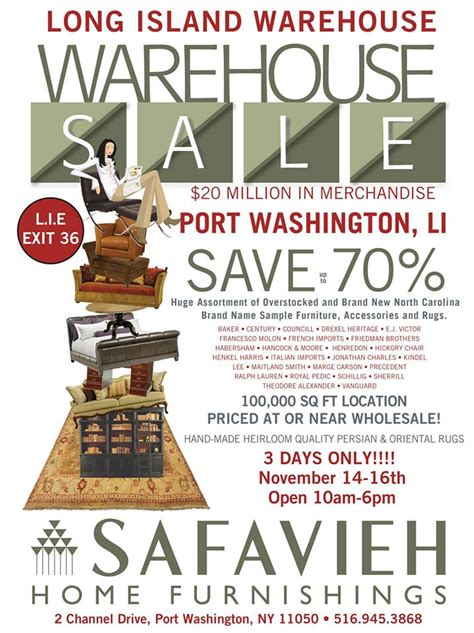 Safavieh Washington by Safavieh Safavieh S Warehouse Sale Is Going On Now This