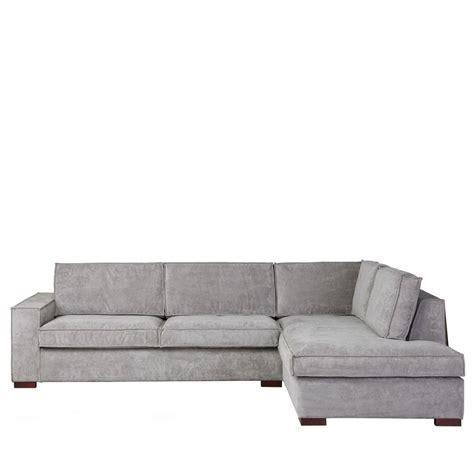 canapé d angle canapé d 39 angle à droite tissu côtelé by drawer