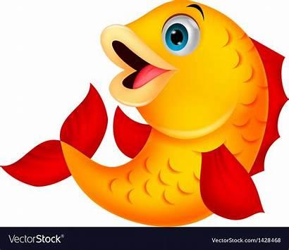 Fish Cartoon Vector Royalty Vectorstock Getdrawings