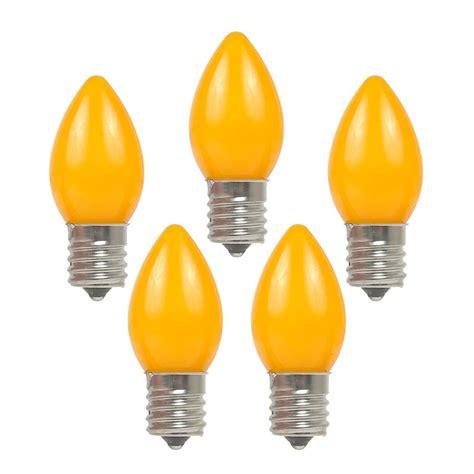 orange led c9 ceramic bulbs novelty lights