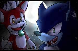 Sonic Unleashed Werehog and Chip