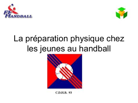 preparation physique au handball