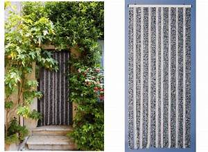 Rideau De Porte Fantaisie : rideau de porte moustiquaire chenille flash 90 x 220 cm ~ Premium-room.com Idées de Décoration